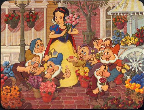 0100-11905 SNOW WHITE'S FANTASY BOUQUET