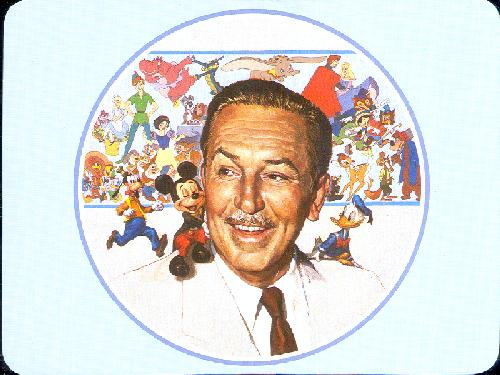 0100-11912 Walt Disney -- started by a mouse