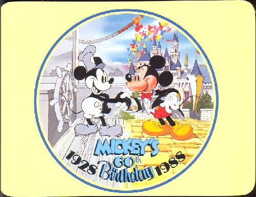 0100-11913 MICKEY'S 60TH ANNIVERSARY