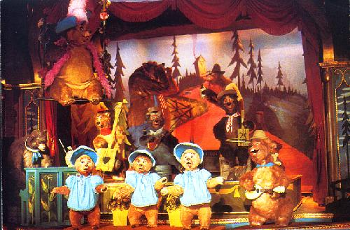 0100-11401 COUNTRY BEAR CURTAIN CALL