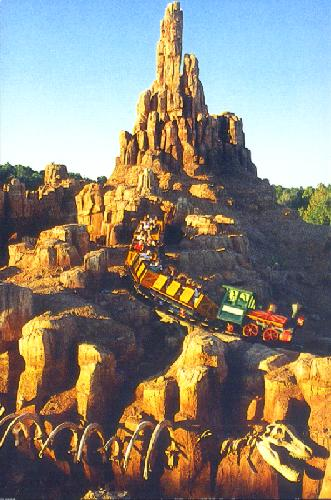 0100-110402 BIG THUNDER MOUNTAIN RAILROAD