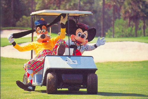 0100-11608 A GOOFY ROUND OF GOLF