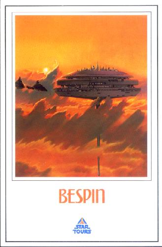 0100-70998 The famous cloud city of Bespin