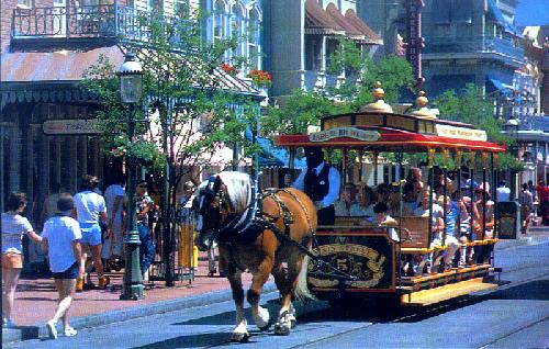 0111-1000 TROLLEY RIDE DOWN MAIN STREET U.S.A.