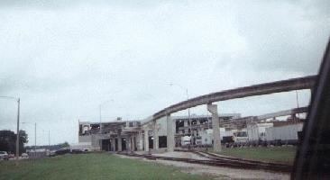 Monorail Parking and the train shed