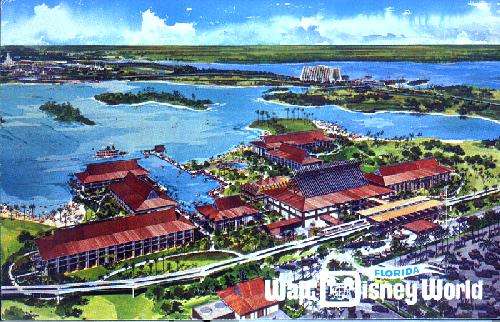 FL-029 THE POLYNESIAN VILLAGE
