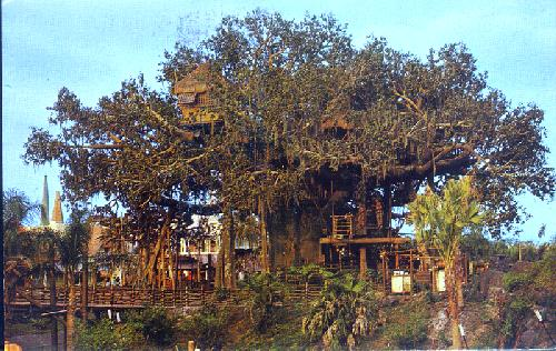 01110207 SWISS FAMILY ISLAND TREEHOUSE