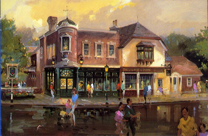 Wdw In Postcards Chap 5 Epcot Center P 4 The Newest
