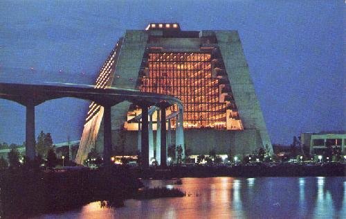 NIGHTFALL AT THE CONTEMPORARY RESORT