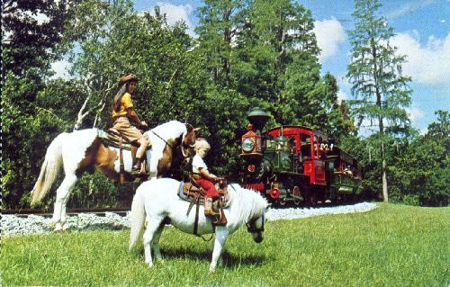 HORSEBACK RIDING AT FORT WILDERNESS