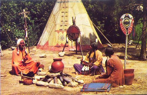 FRONTIERLAND INDIAN VILLAGE