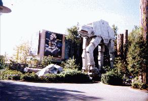 you cant beat the theming the AT-AT is a real attention getter